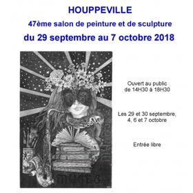 47ème Salon de Peinture Sculpture à Houppeville(76) du 29 septembre au 7 octobre2018