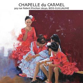 Exposition «40 ans de peinture» à Bois-Guillaume(76) du 9 au 26 novembre2018