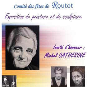 Exposition Peinture & Sculpture à Routot(27) du 3 au 9 novembre2018