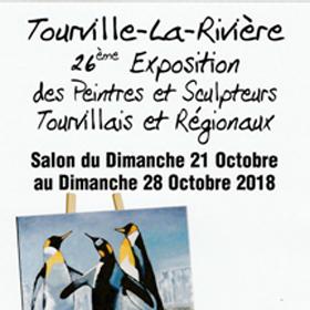 Exposition Peinture et Sculpture à Tourville la Riviere(76) du 21 au 28 octobre2018